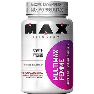 MULTIMAX FEMME  - 120 CAPS - MAX TITANIUM