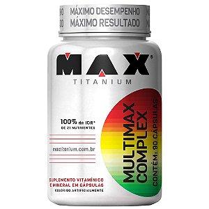 MULTIMAX COMPLEX - 90 CAPS - MAX TITANIUM
