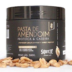 PASTA DE AMENDOIM - PROTEICA & CASEIRA - 500G - SQUEEZE