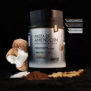 PASTA DE AMENDOIM - CHOCOLATE & COCO - 1,1KG - SQUEEZE