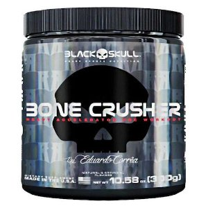 BONE CRUSHER ( PRE TREINO ) - 300G - BLACK SKULL