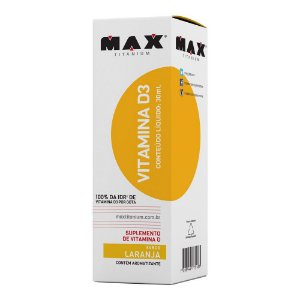VITAMINA D3 - 30ML - MAX TITANIUM