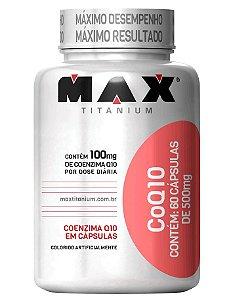 COQ10 COENZIMA - 60 CAPS - MAX TITANIUM