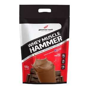 WHEY MUSCLE HAMMER REFIL - 900G - BODY ACTION
