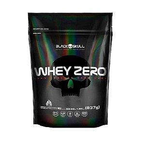 REFIL WHEY ZERO - 837G - BLACK SKULL