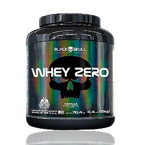 WHEY ZERO POTE - 2KG - BLACK SKULL Sabor:Chocolate