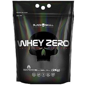 REFIL WHEY ZERO - 2KG - BLACK SKULL
