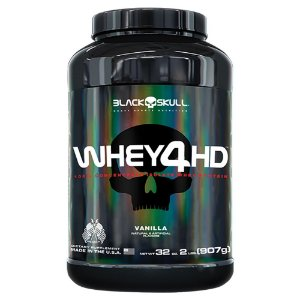 WHEY 4HD - 907G - BLACK SKULL