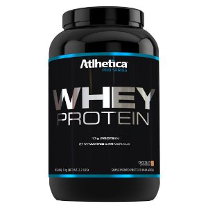 WHEY PROTEIN PRO SERIES POTE - 1KG - ATLHETICA