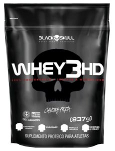 WHEY 3HD REFIL - 837G - BLACK SKULL