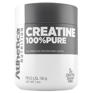 CREATINA 100% PURE - 50G - ATLHETICA