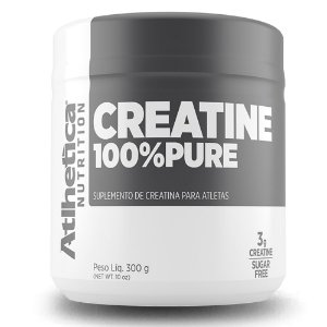 CREATINA 100% PURE - 300G - ATLHETICA