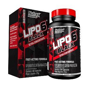 LIPO 6 BLACK ULTRA CONCENTRADO - 60 CAPSULAS - NUTREX