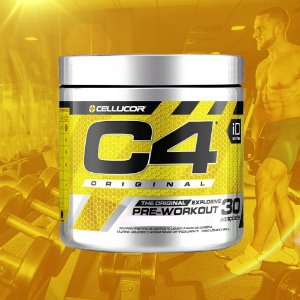 C4 ORIGINAL - 30 PORÇÕES - CELLUCOR