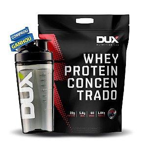 WHEY PROTEIN CONCENTRADO - 1,8KG + BRINDE - DUX NUTRITION LAB
