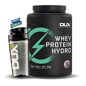 WHEY PROTEIN HYDRO - 900G + BRINDE - DUX NUTRITION LAB