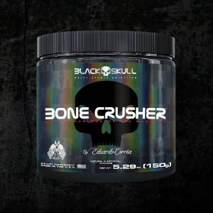 BONE CRUSHER ( PRÉ TREINO ) - 150G - BLACK SKULL
