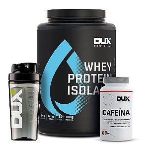 Whey Protein Isolate + Cafeína + Brinde - Dux Nutrition