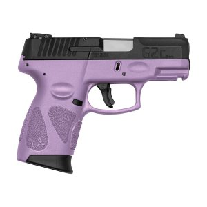Arma de Fogo Pistola Taurus Light Purple G2C 9mm 12+1 Tiros