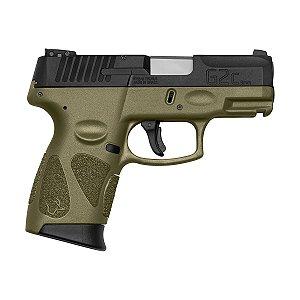Arma de Fogo Pistola Taurus Od Green G2C 9mm 12+1 Tiros