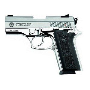 Arma de fogo modelo PT 938 Inox - 380 / Taurus