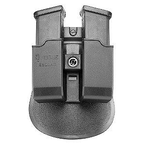 Porta Carregador Duplo Ambidestro Fobus Pistola Glock 380 .40 9mm