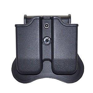 Porta Carregador Duplo Ambidestro Cytac Pistola Glock G17 19 23 32