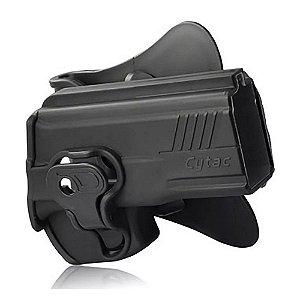 Coldre Destro Cytac CY-T24/7 Pistolas Taurus PT 24/7