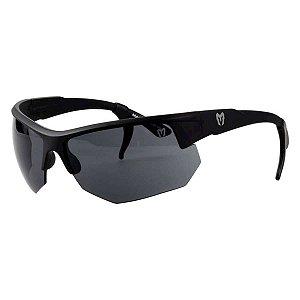 Óculos Tático Marcos Do Val Spartan Preto com Lente Preta