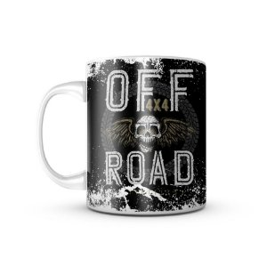 Caneca Off Road Skull 4X4 - 325ML