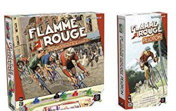 Combo: Flamme Rouge + Expansão Peloton