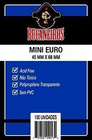 Sleeves Mini EURO (45mm x 68mm)