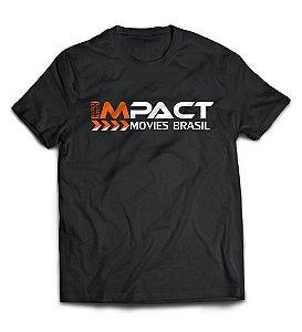 Camiseta Impact Movies Brasil - Logo