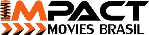 Adesivo Impact Movies Brasil - PRETO