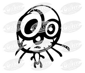 Cat ( 8 x 6 cm )