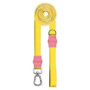 Guia Super Longa 5 Metros Classic Yellow Rosa