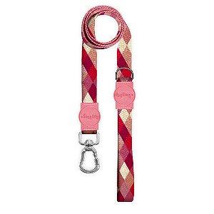 Guia Premium Quadriculada Rosa