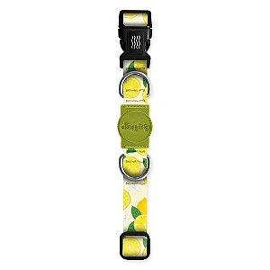 Coleira Premium Lemon