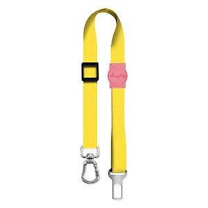 Cinto de Segurança Classic Yellow Rosa