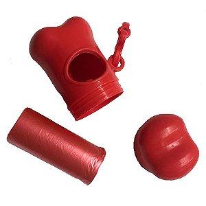 Kit Coletor Com 1 Refil Vermelho