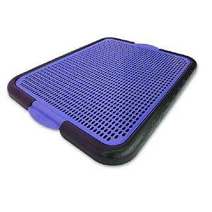 Tapete Sanitário Higiênico de Plástico Azul