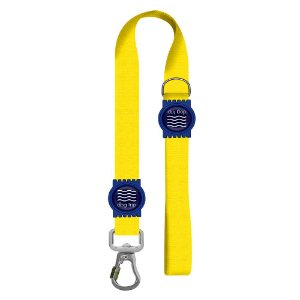 Guia Premium Curta Classic Yellow Borracha Azul