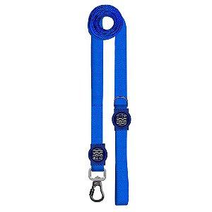 Guia Premium Longa Classic Blue Borracha Azul