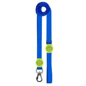 Guia Premium Longa Classic Blue Borracha Verde