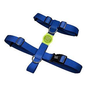 Peitoral Premium Classic Blue Borracha Verde