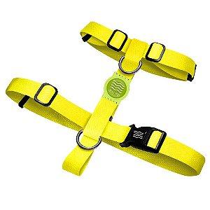 Peitoral Premium Classic Yellow Borracha Verde