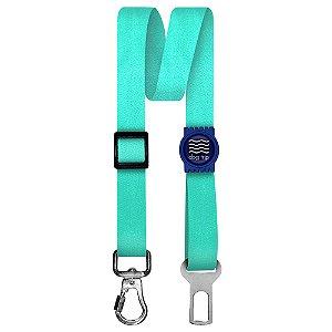 Cinto de Segurança Único Classic Aquamarine Borracha Azul