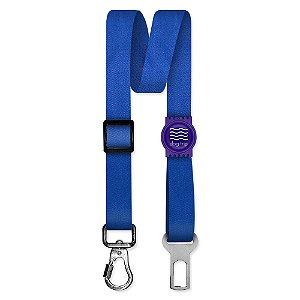 Cinto de Segurança Único Classic Blue Borracha Roxa