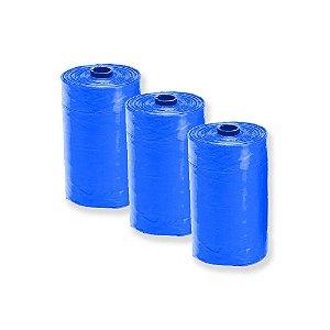 Refis Com 3 Saquinhos Higiênicos Azuis