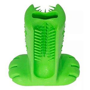 Escova Dental Para Pets Verde